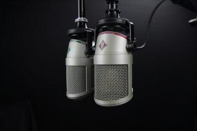 radio microphone cliché