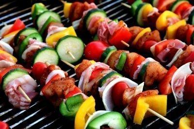 barbecue kebab cliché