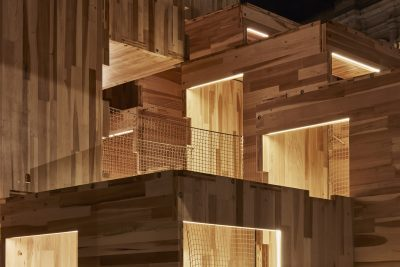Cross-laminated timber construction at London's Victoria & Albert Museum