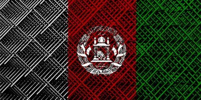 Afghan flag image in a blog about International Women's Day