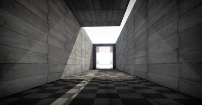 image of walls and light in an interview with filmmaker Elisabeth Brun