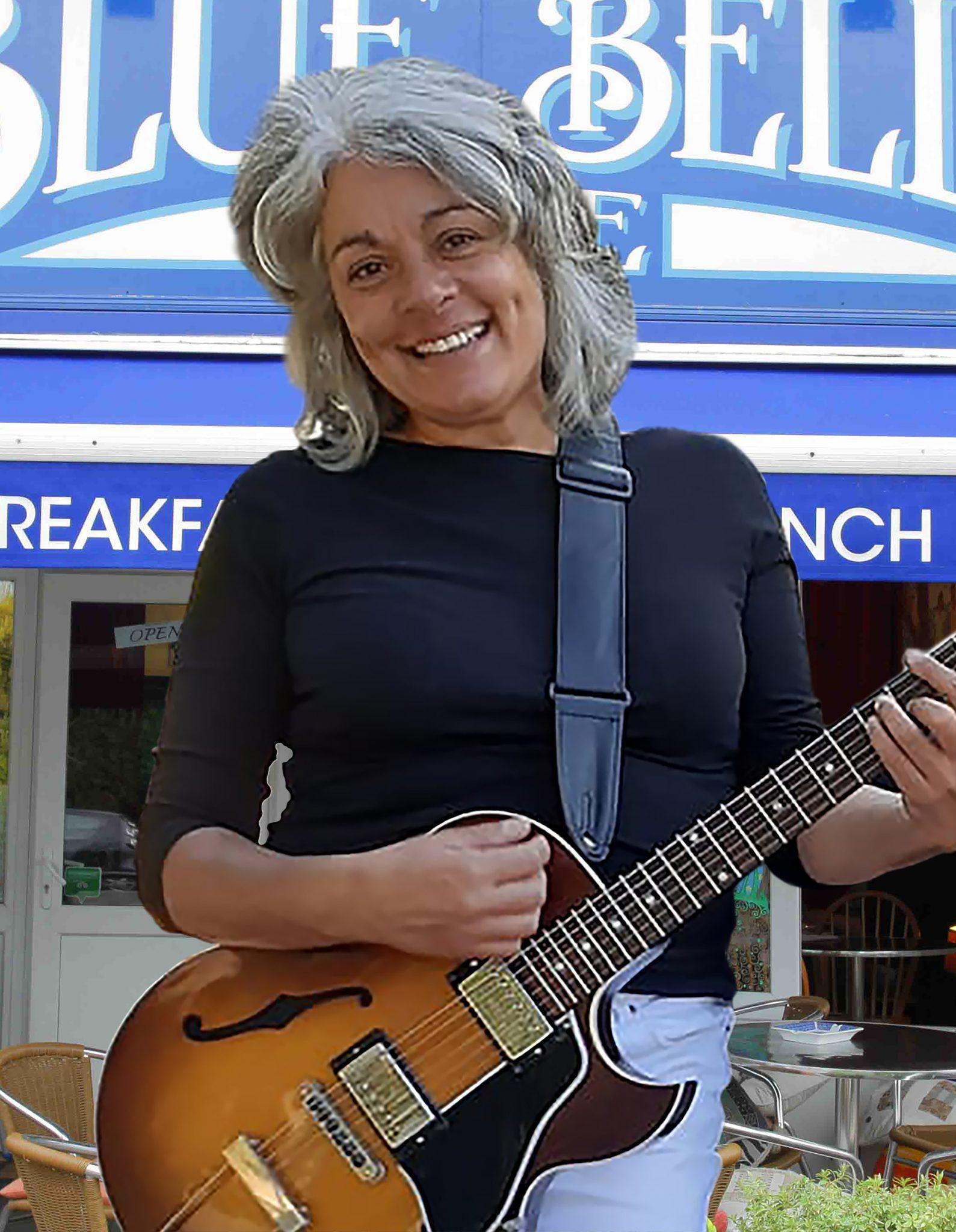 Photo of chef, musician & artist Erica Steenkamp