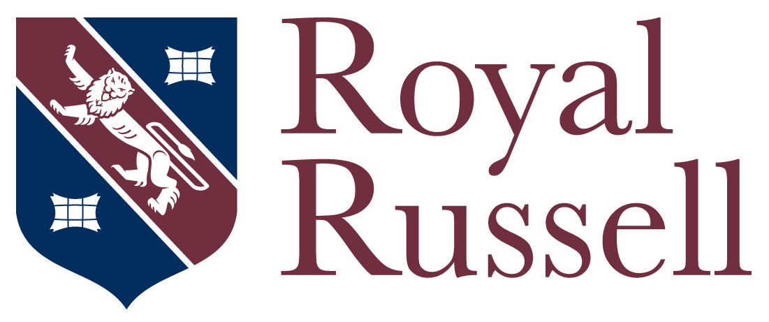 Royal Russell logo in an interview about careers